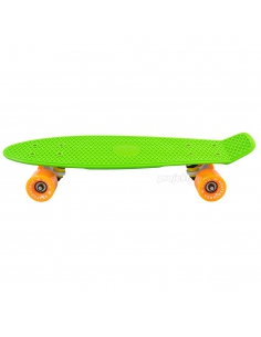 Deskorolka Fish Skateboards Green/White/Orange