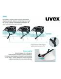 Kask Uvex  Kid 3 Dirtbike Black czarny regulacja 51 - 55 cm
