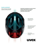 Kask Uvex  Kid 3 Dirtbike Grey lime