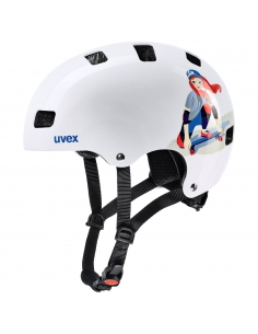 Kask Uvex Kid 3 White Skate