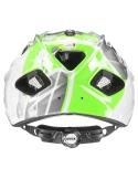 Kask Uvex Quatro Junior Green Silver 50-55cm
