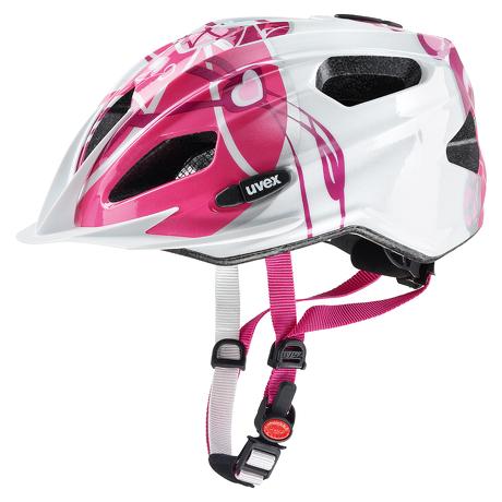 Kask Uvex Quatro Junior Pink Silver 50-55cm