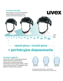 Kask Uvex Air Wing Lightblue Silver