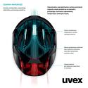 Kask Uvex Hlmt 5 Bike Orange regulacja 55-58 cm