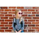Okulary przeciwsłoneczne dla dzieci Babiators Original Aviator Popstar Pink 0-2