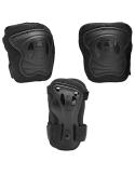 Zestaw dziecięcych ochraniaczy na kolana, łokcie, nadgarstki  K2 SK8 Hero Pro Black