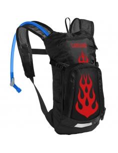 Plecak dziecięcy z bukłakiem Camelbak Mini M.U.L.E. Black/Flames