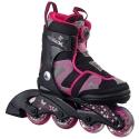 Review for Rolki dziecięce K2 Charm X BOA Girls Black/Pink