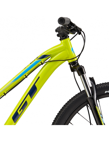 """Rower GT Stomper 24"""" Ace Chartreuse/Navy-Cyan"""