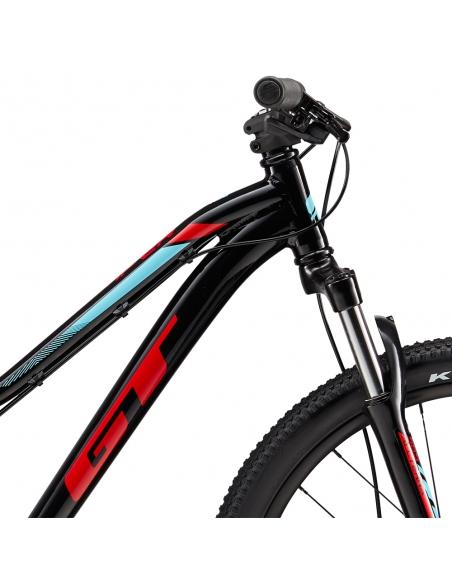 "Rower GT Stomper 24"" Ace Black/Red-Aqua"