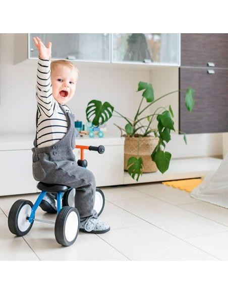 Jeździk rowerek czterokołowy Puky Pukylino czerwony z osłoną kierownicy