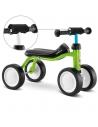 Jeździk rowerek czterokołowy Puky Pukylino zielony z osłoną kierownicy