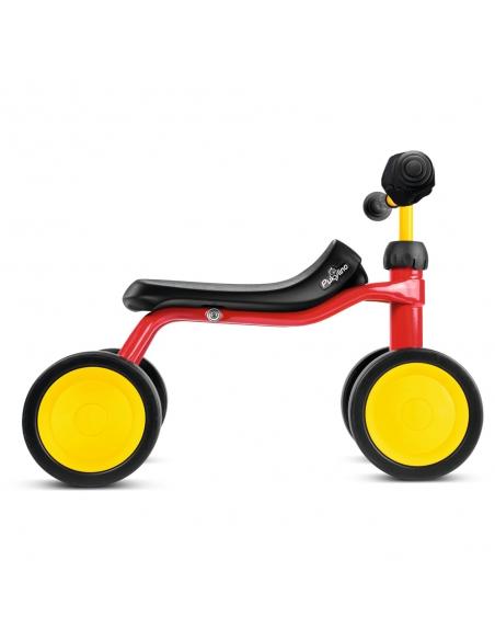 Jeździk rowerek czterokołowy Puky Pukylino różowy z osłoną kierownicy