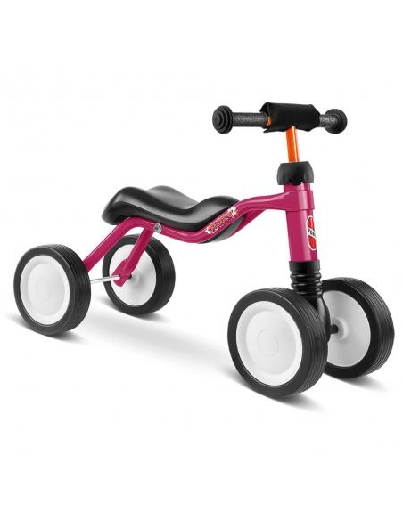 Jeździk rowerek czterokołowy Puky Wutsch jagodowy z osłoną kierownicy