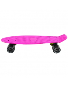 Deskorolka Fish Skateboards Pink/Black/Black