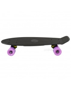 Deskorolka Fish Skateboards Black/Black/Sum-Purple
