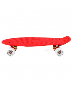 Deskorolka Fish Skateboards Red/Red/White
