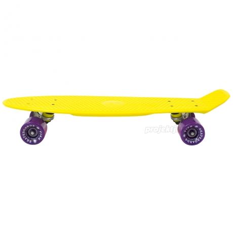 Deskorolka Fish Skateboards Summer Yellow/Silver/Purple