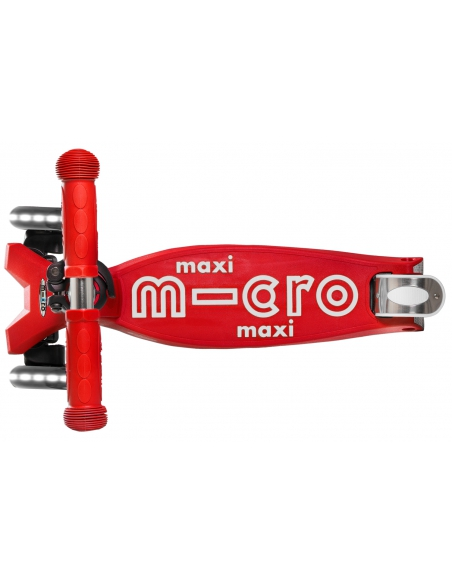 Hulajnoga Maxi Micro Deluxe Red LED