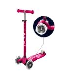 Hulajnoga Maxi Micro Deluxe Pink LED