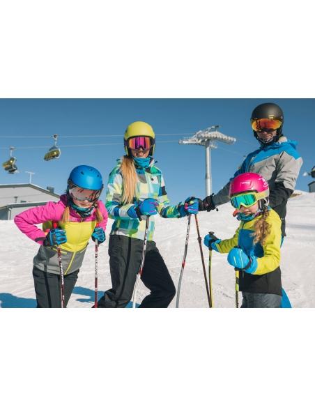 Kominiarka-maska Viking Merino Sentinel Kids niebieska