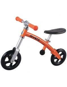 Rowerek biegowy Micro G-Bike pomarańczowy
