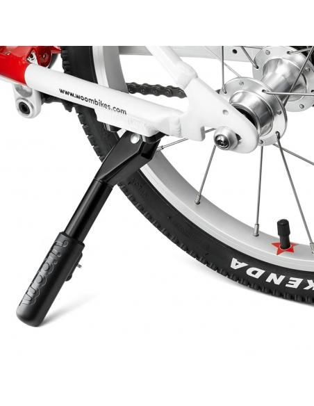 Regulowany podnóżek do rowerów Woom 2 oraz Woom 3.