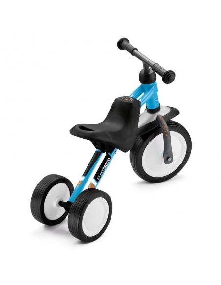 Jeździk rowerek trójkołowy PUKYmoto niebieski