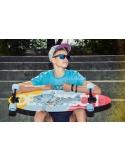 Deskorolka Cruiser Fish Skateboards Szczupak/Silver/Transparent-Blue