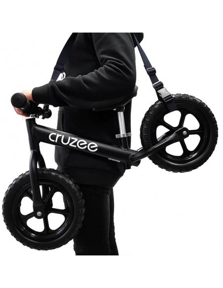 Pasek do noszenia rowerka biegowego lub hulajnogi fioletowy