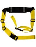 Pasek do noszenia rowerka biegowego lub hulajnogi żółty