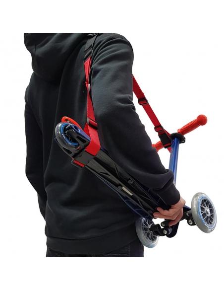 Pasek do noszenia rowerka biegowego lub hulajnogi