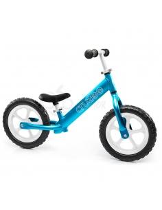 Rowerek biegowy Cruzee 12 niebieski białe koła