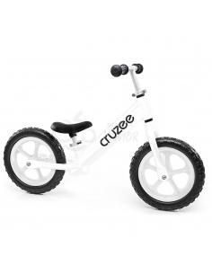 Rowerek biegowy Cruzee 12 biały białe koła