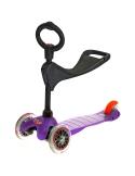 Hulajnoga i Jeździk Mini Micro Baby Seat 3w1 fioletowa