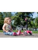 Hulajnoga i Jeździk Mini Micro Baby Seat 3w1 różowy