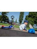 Hulajnoga i Jeździk Mini Micro Baby Seat 3w1 niebieski