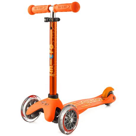 Hulajnoga Mini Micro Deluxe pomarańczowa