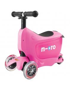 Jeździk i Hulajnoga Micro Mini2go różowa