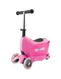 Hulajnoga i Jeździk Micro  Mini2go różowa