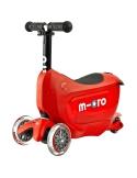 Jeździk i Hulajnoga Micro Mini2go Deluxe czerwony
