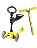 Hulajnoga i Jeździk Mini Micro Deluxe 3w1 żółta
