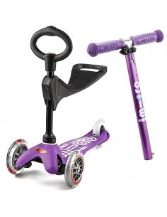 Hulajnoga i Jeździk Mini Micro Deluxe 3w1 fioletowa