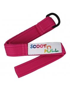 Pasek Micro Scoot 'n Pull do ciągnięcia i przenoszenia hulajnogi różowy AC4580
