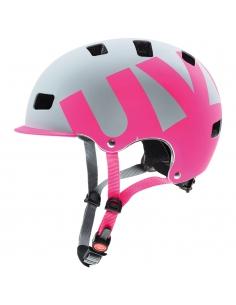 Kask Uvex Hlmt 5 Bike Pro grey pink mat