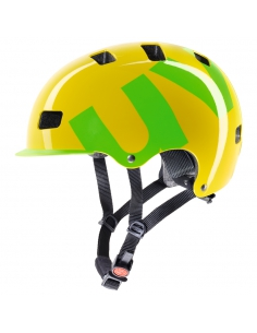 Kask Uvex Hlmt 5 Bike Pro yellow green