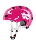 Kask Uvex Kid 3 scary pink regulacja 51-55 cm