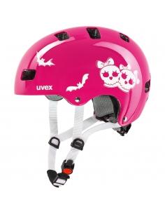 Kask Uvex Kid 3 scary pink różowy