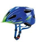 Kask Uvex Quatro Junior Blue Green regulacja 50-55 cm