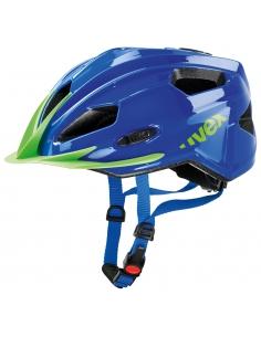 Kask Uvex Quatro Junior blue green